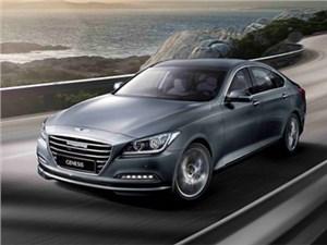 Презентация новых комплектаций седана Hyundai Genesis в России