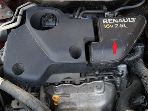 Renault Koleos 2014 двигатель