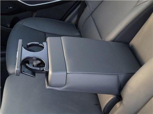 Hyundai Santa Fe 2015 задний диван