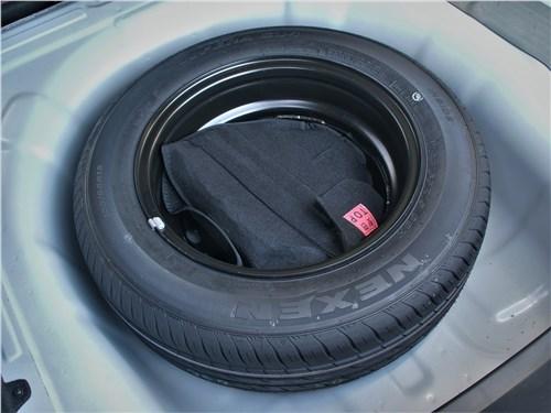Kia Rio 2021 запасное колесо