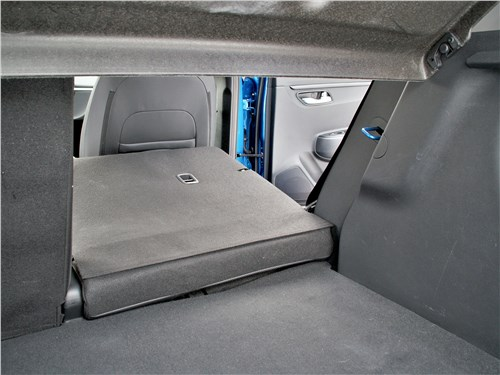Kia Rio X (2020) багажное отделение