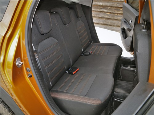 Renault Duster (2021) задний диван