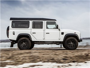 Land Rover Defender 110 2012 вид сбоку