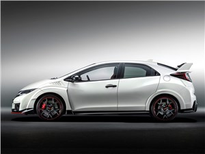 Honda Civic Type R 2015 вид сбоку