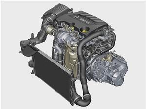 С новым мотором Insignia легко подтверждает свой статус флагмана марки