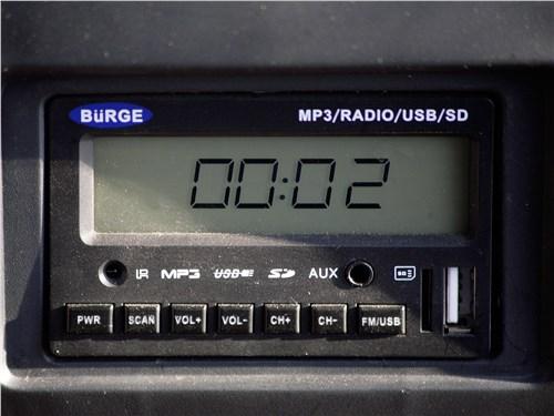 Bajaj Qute 2016 аудиосистема