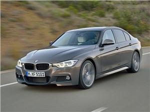 BMW 3 series 2016 вид спереди сбоку