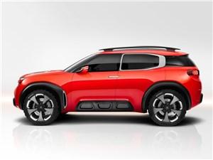 Предпросмотр citroen aircross concept 2015 вид сбоку