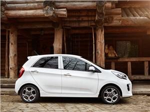 Малыши (Chevrolet Spark, Daewoo Matiz, Fiat Panda, Kia Picanto, Peugeot 107) Picanto - Kia Picanto 2015 вид сбоку