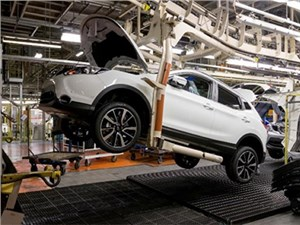 В Петербурге начали собирать тестовые образцы кроссовера Nissan Qashqai