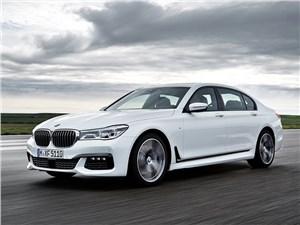 Мечты сбываются (Audi A8,BMW 7 Series,Jaguar XJ,Lexus LS,Mercedes-Benz S-Klasse,Volkswagen Phaeton) 7 series - BMW 7-Series 2016 вид спереди сбоку