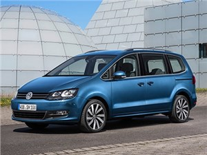В Европе начинаются продажи обновленной версии минивэна Volkswagen Sharan