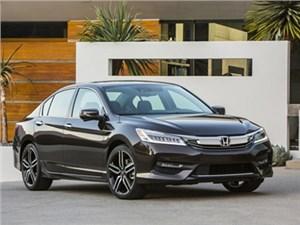 В США представили обновленный седан Honda Accord