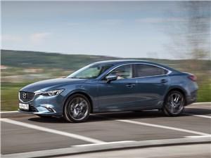 Середняки 6 - Mazda 6 2016 вид сбоку