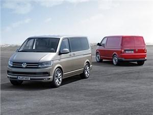 В России начались продажи Volkswagen Transporter шестого поколения