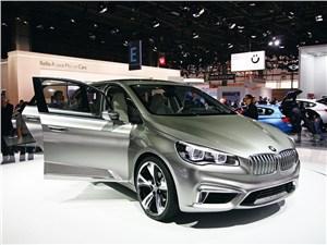 Концепт BMW Active Tourer – это новый уровень дизайна и технологий