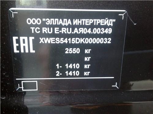 Kia K900 2019 шильдик