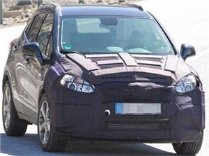 Новость про Opel Mokka - В Европе проходят испытания обновленного «паркетника» Opel Mokka