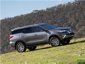 Mitsubishi Pajero Sport и Toyota Fortuner: битва рамных внедорожников не на жизнь, а на смерть Fortuner - Toyota Fortuner 2016 вид сбоку