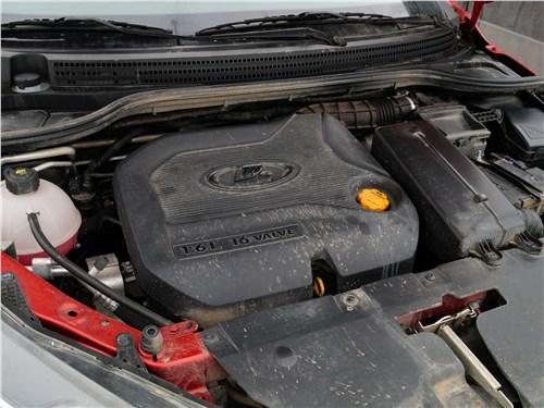Lada Vesta 2015 двигатель