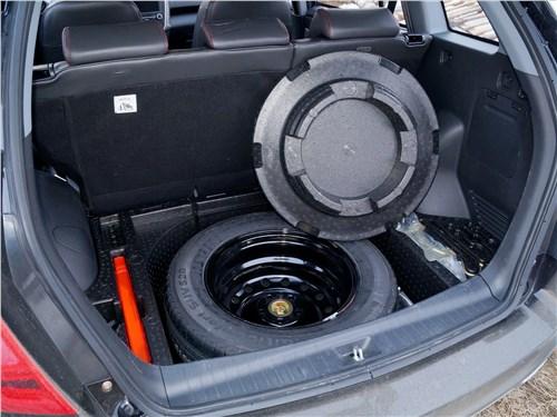 Lifan X60 2016 багажное отделение