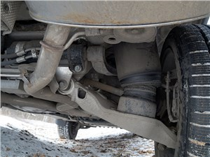 Range Rover LWB 2014 задняя подвеска