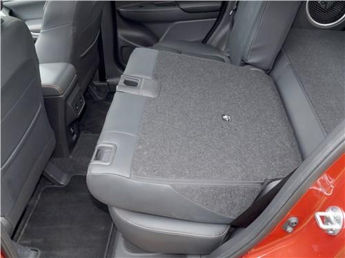 Mitsubishi Eclipse Cross 2018 задний диван