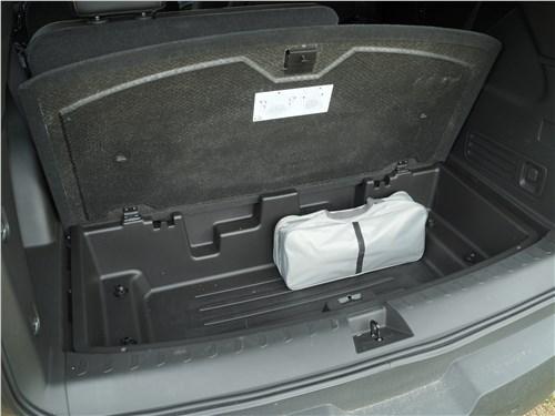 Предпросмотр chevrolet traverse 2018 багажное отделение