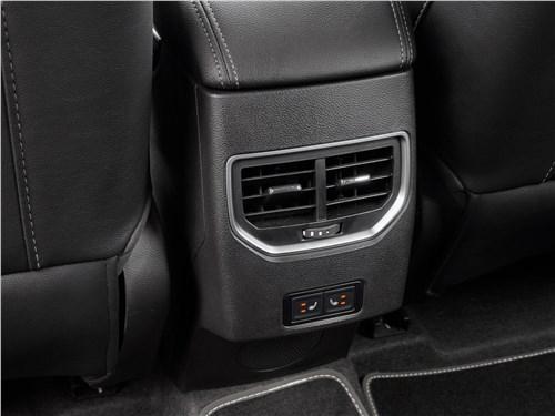 Chery Tiggo 4 2020 дефлекторы системы вентиляции
