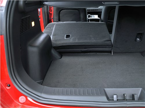 Chery Tiggo 7 Pro (2020) багажное отделение