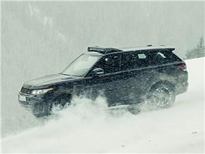 Предпросмотр land rover range rover sport svr 2015 вид сбоку