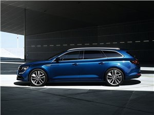 Renault Talisman Estate 2016 вид сбоку