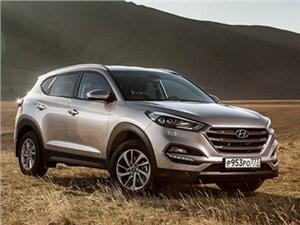 В России начались продажи кроссовера Hyundai Tucson