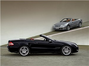 Mercedes-Benz SL 500 2006 вид сбоку