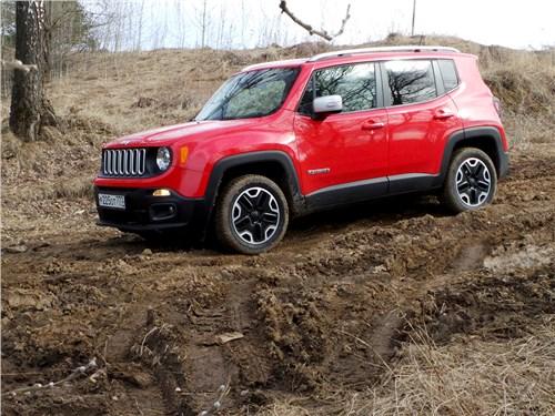 Предпросмотр jeep renegade 2014 вид сбоку