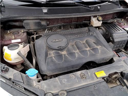 Chery Tiggo 5 2016 двигатель