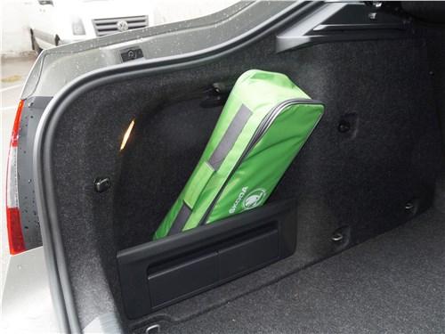 Skoda Octavia 2017 багажное отделение