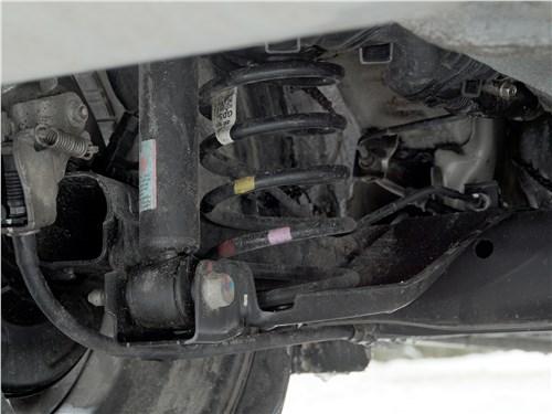 Kia Picanto X-Line 2017 задняя подвеска