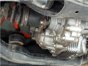 Lexus RX 450h F-Sport 2014 задний электромотор