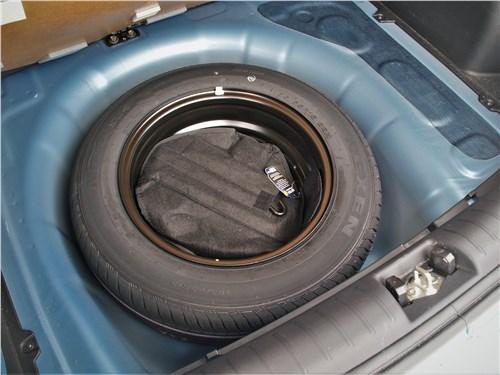 Kia Rio X (2020) запасное колесо