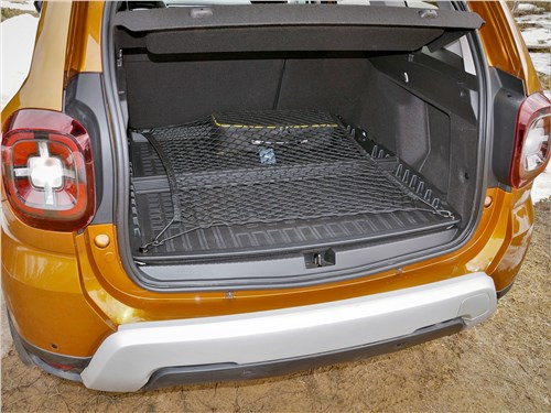 Renault Duster (2021) багажное отделение
