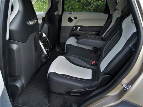 Land Rover Range Rover Sport SVR (2018) задний диван