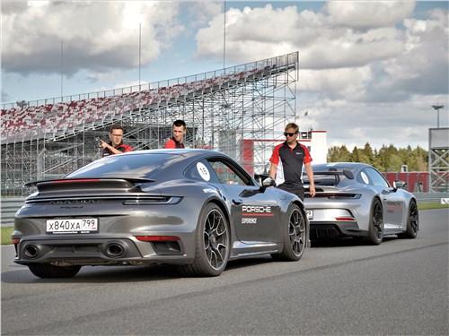 Porsche 911 Turbo S и 911 GT3