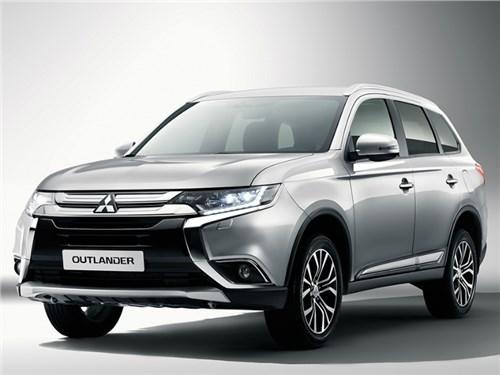 Mitsubishi назвала российские цены обновленного Outlander