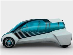 Предпросмотр toyota fcv plus concept 2015 вид сбоку