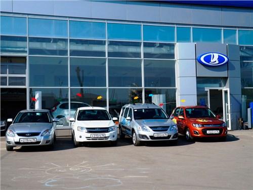 Объем продаж АвтоВАЗа в январе сократился на 11 процентов