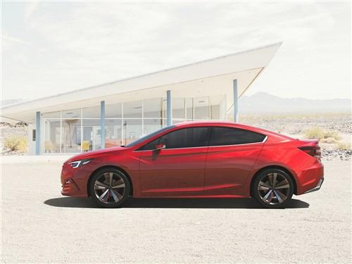 Предпросмотр subaru impreza sedan concept 2015 вид сбоку