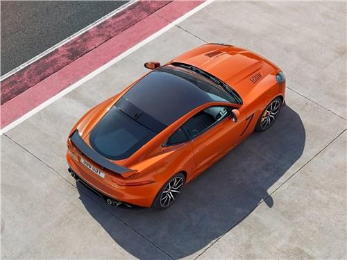 Предпросмотр jaguar f-type svr coupe 2016 вид сверху