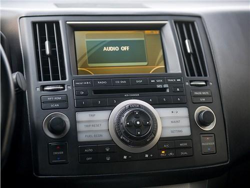 Infiniti FX 2006 центральная консоль