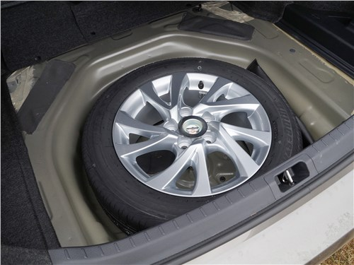 Предпросмотр toyota corolla 2017 запасное колесо